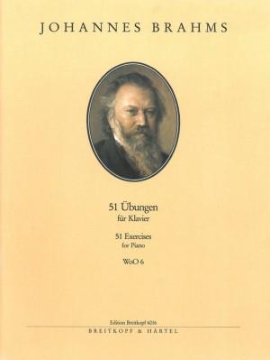 Brahms, J: 51 Exercises