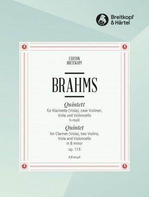 Brahms, J: Clarinet Quintet in B minor Op. 115 op. 115
