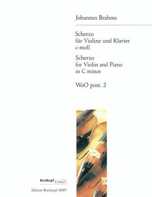 Brahms, J: Scherzo in C minor WoO post. 2  WoO post. 2
