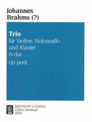 Brahms: Klaviertrio A-dur op. post.