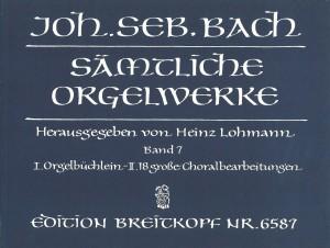 Bach, J S: Complete Organ Works - Lohmann Edition  Bd. 7