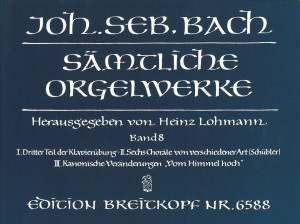 Bach, J S: Complete Organ Works Band 8
