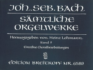 Bach, J S: Complete Organ Works - Lohmann Edition  Bd. 9