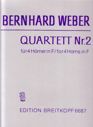 Weber: Quartett Nr. 2