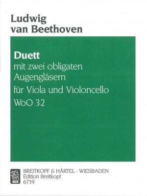 Beethoven: Duett mit 2 Obl. Augengläsern