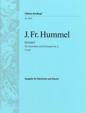Hummel: Klarinettenkonzert Nr.2 f-moll
