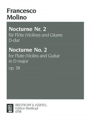 Molino: Zweites Nocturne op. 38