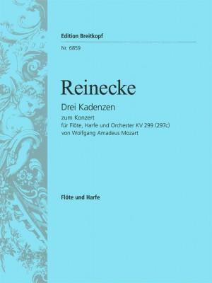 Reinecke: 3 Kadenzen zu Mozart KV 299