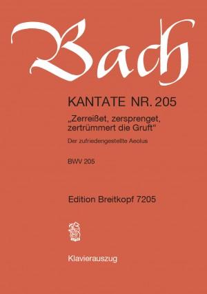 Bach, J S: Zerreisset, zersprenget, zertruemmert die Gruft BWV 205