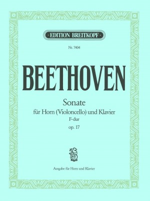 Beethoven, L v: Sonata in F major Op. 17 op. 17