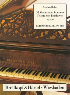 Heller: 33 Beethoven-Variat. op. 130