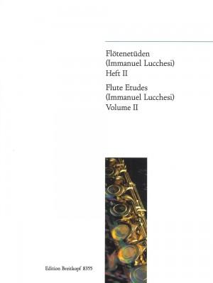 Lucchesi, I: Flute Etudes  Heft 2