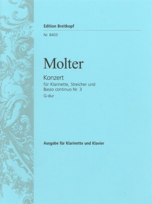 Molter: Klarinettenkonzert Nr. 3 G-dur