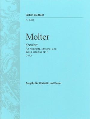 Molter: Klarinettenkonzert Nr. 4 D-dur