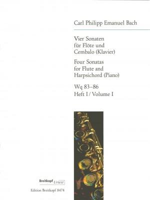 Bach, C P E: 4 Sonatas  Heft 1 Product Image