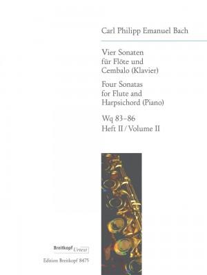 Bach, C P E: 4 Sonatas  Heft 2