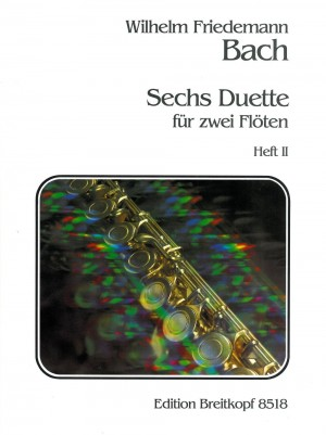 Bach, W F: 6 Duets  Heft 2