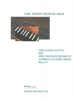 Bach, CPE: Vier Kleine Duette Wotq 115