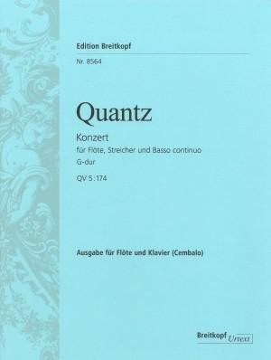 Quantz, J J: Flute Concerto in G major QV 5:174  QV 5:174