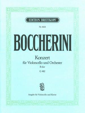 Boccherini, L: Cello Concerto in B flat major G482