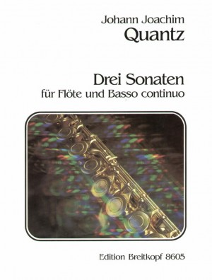 Quantz: Drei Sonaten QV 1:150/75/114