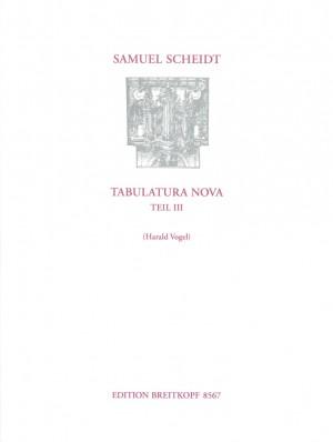 Scheidt, S: Tabulatura Nova  Teil 3