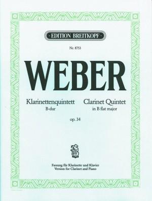 Weber: Quintet in Bb op. 34 J.182