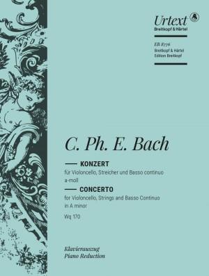 Bach, C P E: Cello Concerto A minor Wq 170