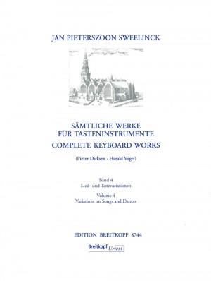 Sweelinck, J P: Complete Keyboard Works  Band 4