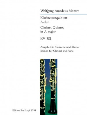 Mozart, W A: Quintet in A major K. 581  KV 581