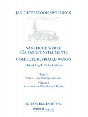 Sweelinck, J P: Complete Keyboard Works  Band 3