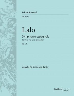 Lalo, Symphonie Espagnole Op.21 (Violin/Piano)