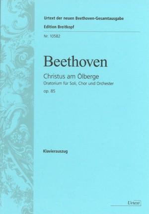 Beethoven, L v: Christ on the Mount of Olives Op. 85 op. 85