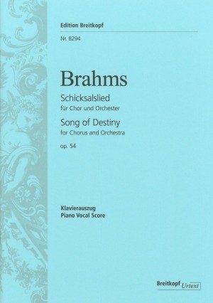 Brahms, Johannes: Schicksalslied op. 54