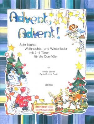 Beutler: Advent, Advent! Querflöte und Klavier