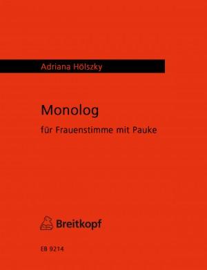 Hölszky: Monolog