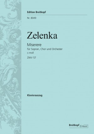 Zelenka, Jan Dismas: Miserere c-moll ZWV 57