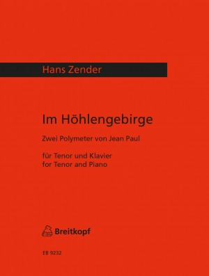 Zender, Hans: Im Höhlengebirge - zwei Polymeter