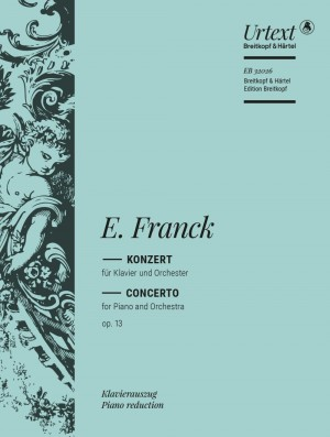 Eduard Franck: Concerto for Piano in D minor Op. 13