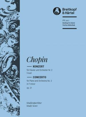 Chopin: Klavierkonzert 2 f-moll op.21