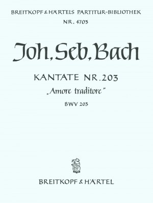 Bach, JS: Kantate 203 Amore