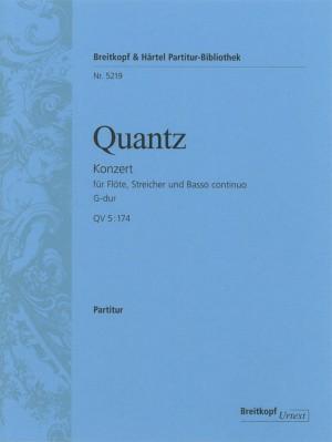 Quantz: Flötenkonzert G-dur Qv 5:174