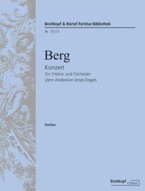 Berg, A: Konzert für Violine und Orchester