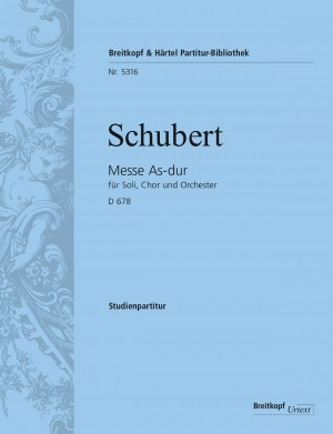 Schubert: Messe As-dur D 678