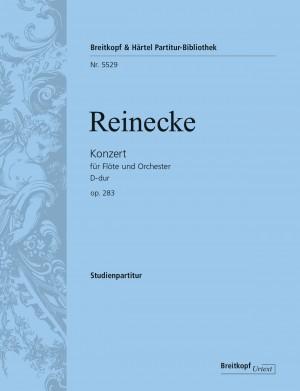 Reinecke, Carl: Flötenkonzert D-dur op. 283
