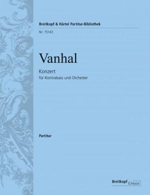 Vanhal, Johann Baptist: Kontrabasskonzert