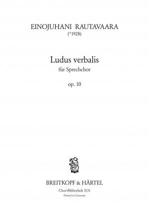 Rautavaara, E: Ludus Verbalis op. 10