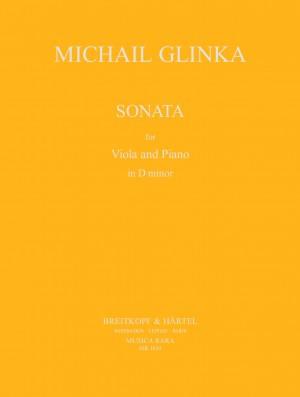 Glinka, M: Sonata in D minor