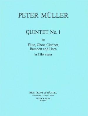 Müller: Quintett in Es Nr. 1