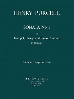 Purcell, H: Sonata No. 1 in D major